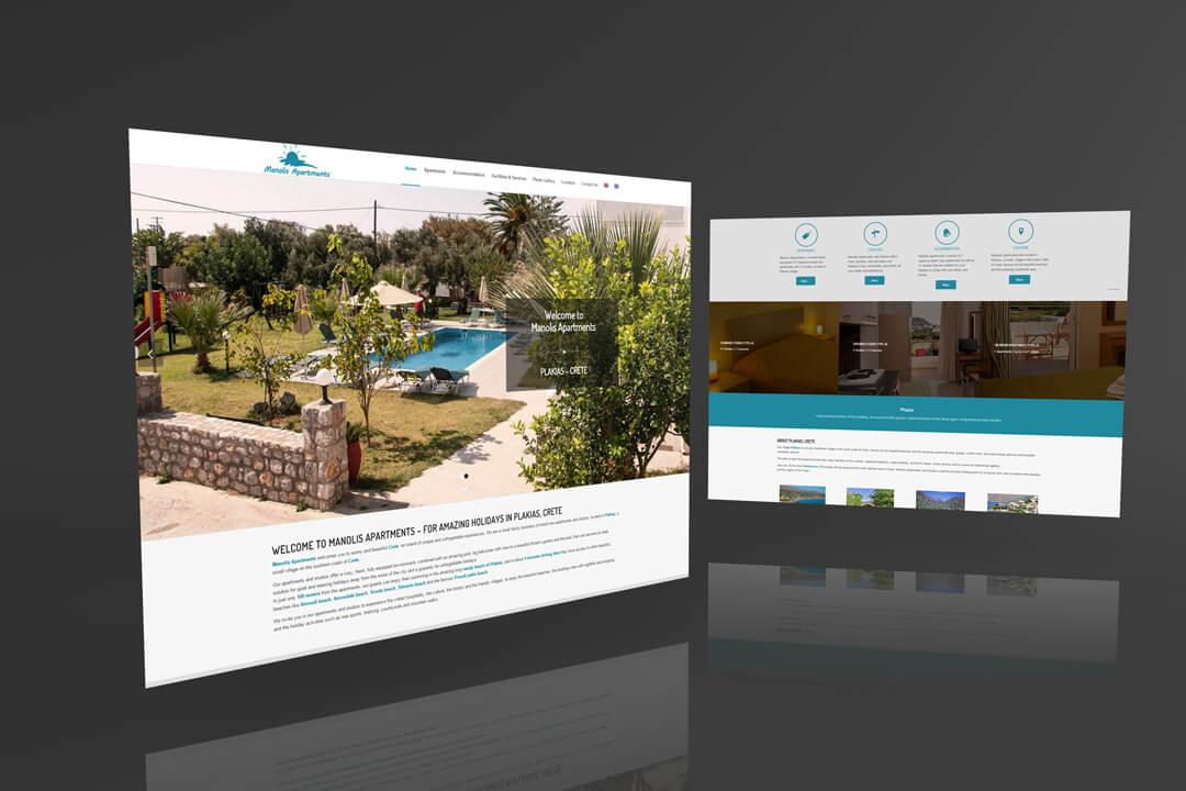 T.M.Y. Ιστοσελίδες - manolis-apartments.gr